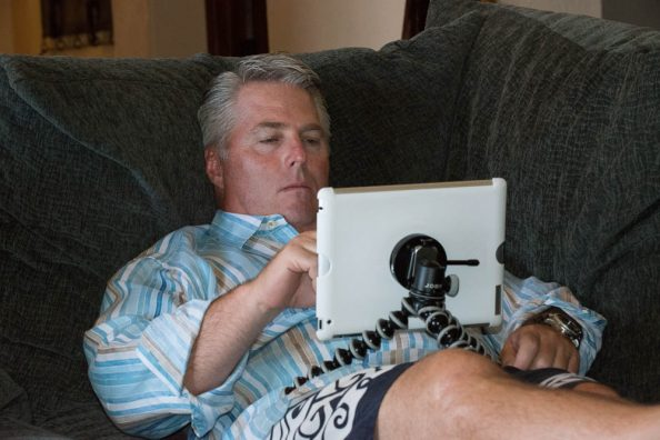 Relax With Your iPad Using Tether Tools + JOBY GorillaPod