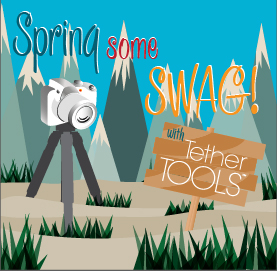 Spring Some Swag with Tether Tools and 3 Legged Thing