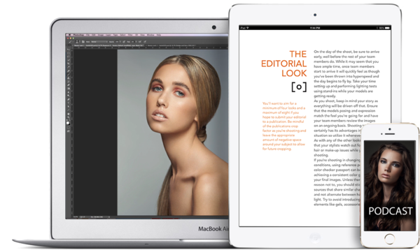 Fashion & Beauty Photography Guide features Tethered Photography
