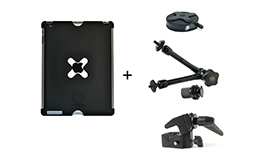 iPad case plus mounting options
