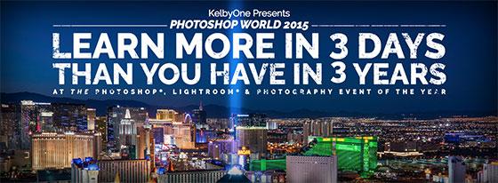 Photoshop World 2015 in Las Vegas