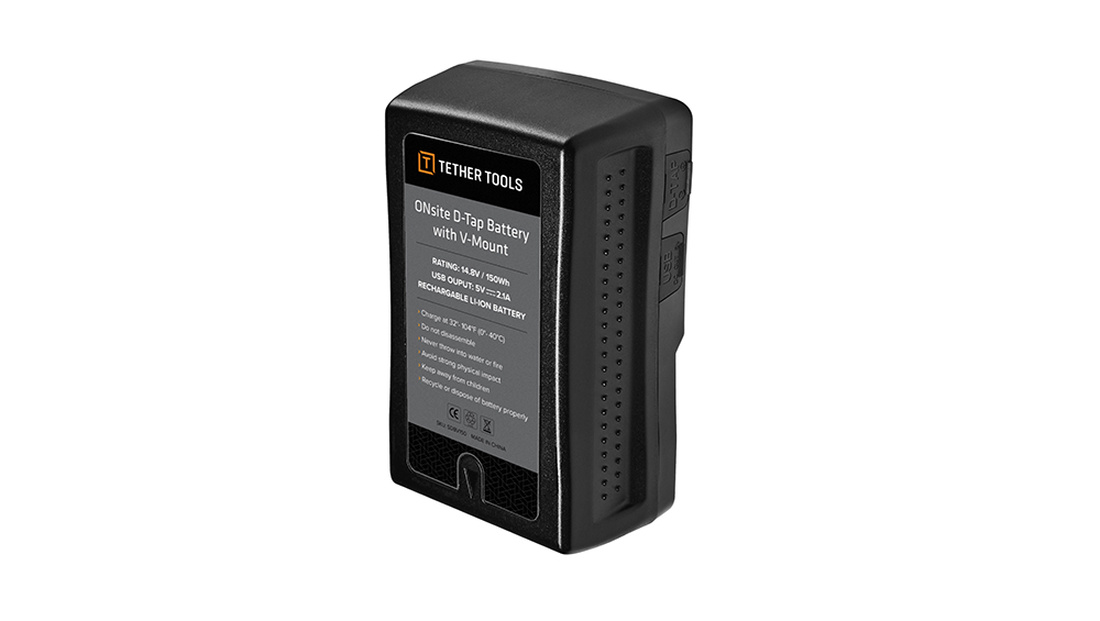 ONsite D-Tap Battery with V-Mount