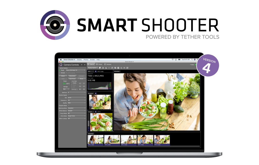 Smart Shooter Powered by Tether Tools