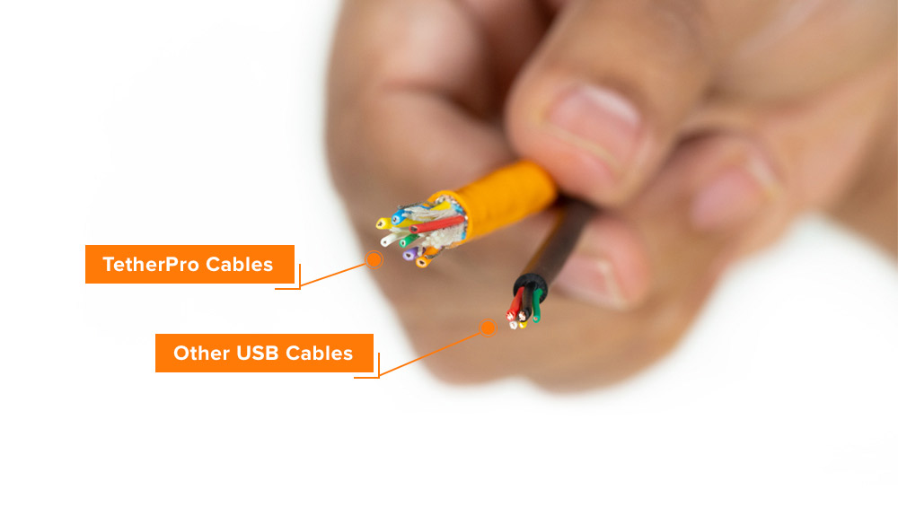 TetherPro VS Other USB Cables