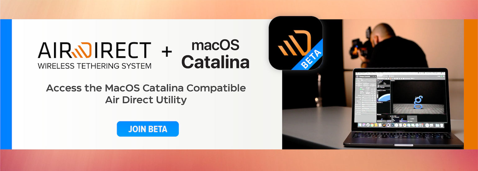 Accesss the MacOS Catalina Compatible Air Direct Utility