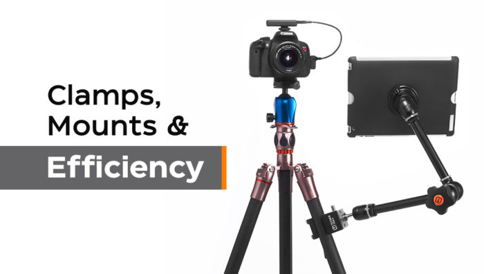How Clamps and Mounts Bring Efficiency to Your Workflow