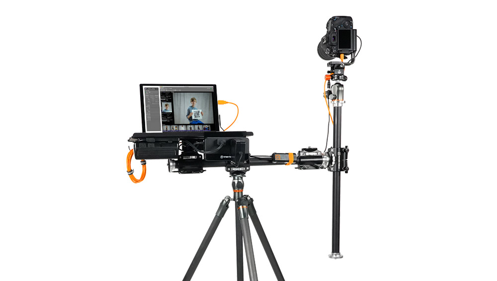 Complete Wired Tethering System for High-Volume Photography